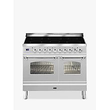 Buy ILVE Milano PDNI100E3 Dual Fuel Induction Range Cooker Online at johnlewis.com