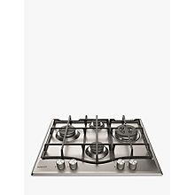 Buy Hotpoint PCN641IXH Gas Hob, Stainless Steel Online at johnlewis.com