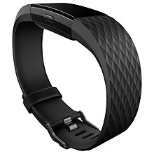 Buy Fitbit Charge 2 Heart Rate and Fitness Tracking Wristband, Small Online at johnlewis.com