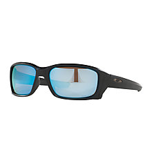Buy Oakley OO9331 Straightlink Prizm Daily Polarised Rectangular Sunglasses Online at johnlewis.com