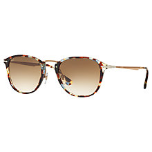 Buy Persol PO3165S D-Frame Sunglasses, Multi/Brown Gradient Online at johnlewis.com