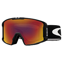 Buy Oakley OO7070 Line Miner Prizm Snow Goggles Online at johnlewis.com