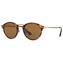 Buy Persol PO3166S Calligrapher Edition Polarised Oval Sunglasses Online at johnlewis.com
