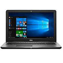 "Buy Dell Inspiron 15 5000 Series Laptop, AMD A10, 8GB RAM, 1TB, 15.6"", Black Online at johnlewis.com"