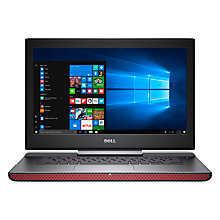 "Buy Dell Inspiron 15 7000 Gaming Laptop, Intel Core i7, 16GB RAM, 1TB HDD + 128GB SSD, 15.6"" Online at johnlewis.com"