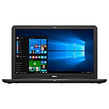 "Buy Dell Inspiron 17 5000 Series Laptop, Intel Core i7, 8GB RAM, 1TB, 17.3"" Full HD, Black and Microsoft Office 365 Home Premium, 5 PCs, One Year Subscription Online at johnlewis.com"