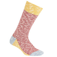 Buy Jollies 'Punster' Colour Block Socks, One Size, Multi Online at johnlewis.com