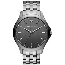 Buy Armani Exchange Men's Bracelet Strap Watch Online at johnlewis.com