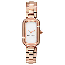 Buy Marc Jacobs Women's The Jacobs Rectangular Bracelet Strap Watch Online at johnlewis.com