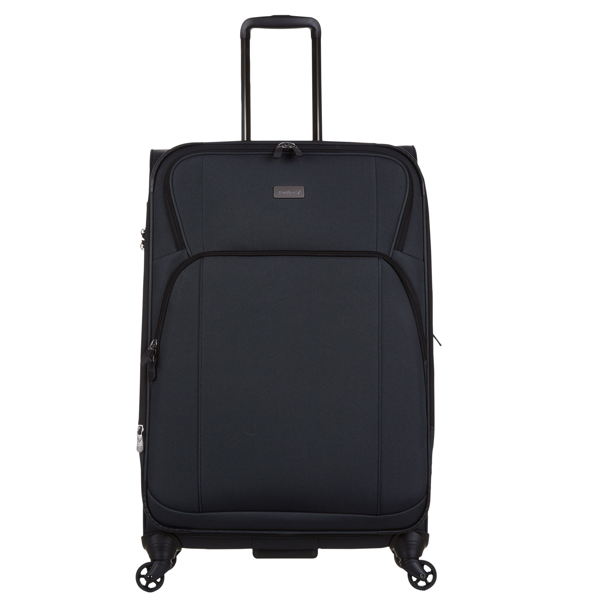 Antler Antler Airstreamii 77cm 4-Wheel Suitcase, Charcoal