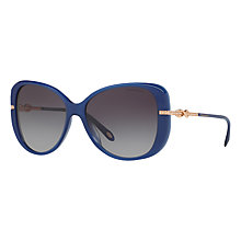 Buy Tiffany & Co TF4126B Embellished Cat's Eye Sunglasses Online at johnlewis.com