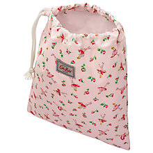 Buy Cath Kidston Children's Ballerina Rose Drawstring Wash Bag, Pink Online at johnlewis.com