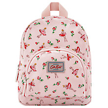 Buy Cath Kidston Children's Ballerina Rose Mini Rucksack, Pale Pink Online at johnlewis.com