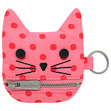 Buy Cath Kidston Children's Spot Cat Purse, Pink Online at johnlewis.com