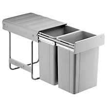 Buy Wesco Large Capacity Recycling Kitchen Bin, 2 x 26L Online at johnlewis.com