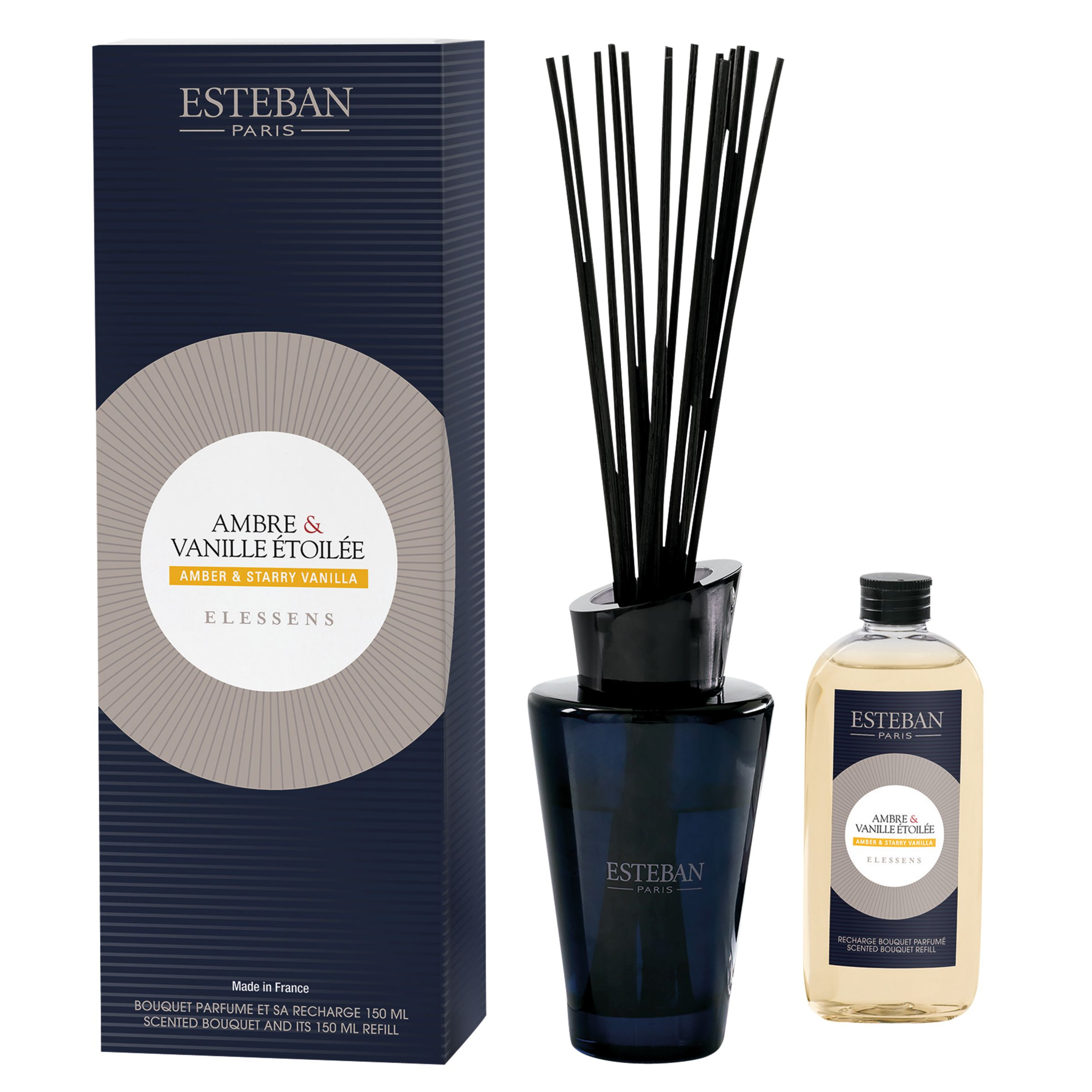 Esteban Esteban Amber & Starry Vanilla Diffuser, 150ml