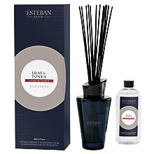 Buy Esteban Lilac & Tonka Diffuser, 150ml Online at johnlewis.com