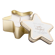 Buy Katie Loxton 'Sparkle Everyday' Almond and Cinnamon Scented Candle Online at johnlewis.com