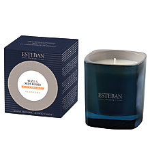 Buy Esteban Yuzu & Pink Salts Candle Jar Online at johnlewis.com