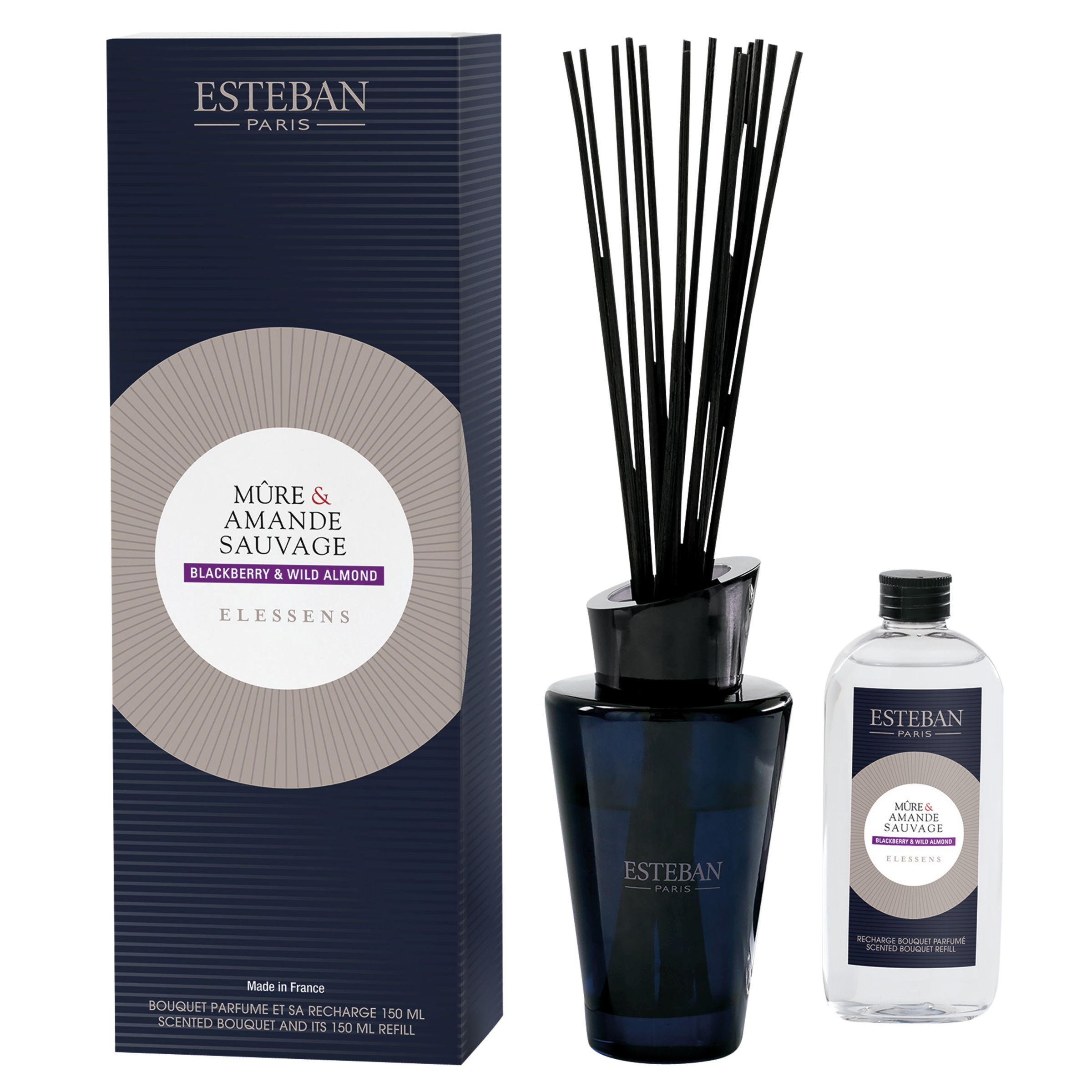 Esteban Esteban Blackberry & Wild Almond Diffuser, 150ml