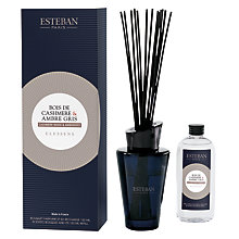 Buy Esteban Cashmere Wood & Ambergris Diffuser, 150ml Online at johnlewis.com
