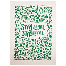 Buy Jane Katherine Houghton Stay Local Tea Towel Online at johnlewis.com