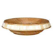 Buy John Lewis Fusion Wooden Bowl, Large Online at johnlewis.com