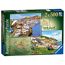 Buy Ravensburger Picturesque Yorkshire Jigsaw Puzzle, 500 pieces Online at johnlewis.com