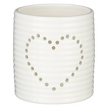 Buy John Lewis Heart Votive Candle Holder Online at johnlewis.com