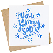 Buy Jane Katherine Houghton Jammy Greeting Card Online at johnlewis.com