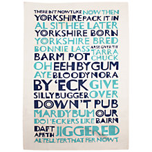 Buy Jane Katherine Houghton Yorkshire Tea Towel Online at johnlewis.com
