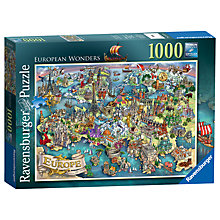 Buy Ravensburger European Wonders Jigsaw Puzzle, 1000 pieces Online at johnlewis.com