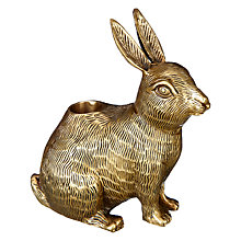 Buy John Lewis Brass Rabbit Candle Holder Online at johnlewis.com