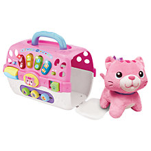 Buy VTech Baby Cosy Kitten and Carrier Online at johnlewis.com