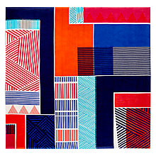 Buy John Lewis Dakara Zambezi Double Beach Towel Online at johnlewis.com