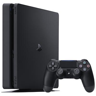 New Sony PlayStation 4 Slim Console, 500GB
