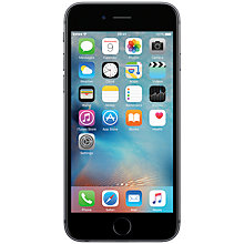 "Buy Apple iPhone 6s, iOS, 4.7"", 4G LTE, SIM Free, 32GB Online at johnlewis.com"