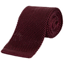 Buy Jaeger Knitted Silk Tie Online at johnlewis.com