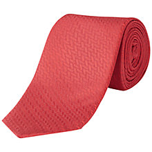 Buy Jaeger Straw Jacquard Silk Tie Online at johnlewis.com