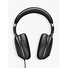 Buy Sennheiser PXC480 Noise-Cancelling Over-Ear Headphones with In-Line Mic/Remote, Black Online at johnlewis.com