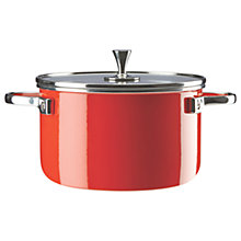 Buy kate spade new york Metal Casserole, Red Online at johnlewis.com