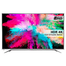 "Buy Hisense 65M5500 LED HDR 4K Ultra HD Smart TV, 65"" With Freeview HD & Anyview Cast, Silver Online at johnlewis.com"
