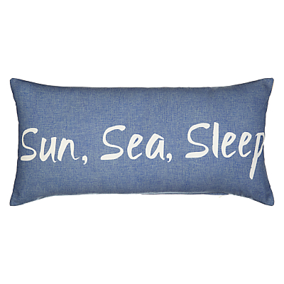 John Lewis Coastal Sun, Sea, Sleep Cushion