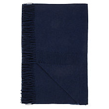 Buy John Lewis Relaxed Country Plain Wool Throw Online at johnlewis.com