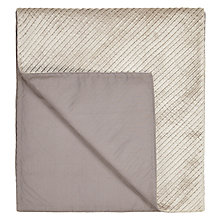 Buy John Lewis Hotel Pleats Runner Throw Online at johnlewis.com