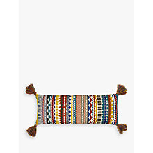 Buy John Lewis Fusion Geo Embroidery Cushion Online at johnlewis.com