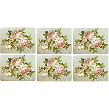 Buy Pimpernel Antique Rose Placemats, Set of 6 Online at johnlewis.com