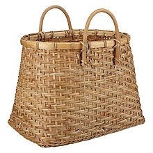 Buy John Lewis Rattan Tapered Basket Online at johnlewis.com