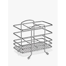 Buy John Lewis Stainless Steel Cutlery Basket Online at johnlewis.com