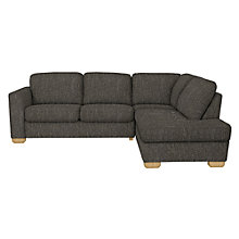 Buy John Lewis Cooper RHF Corner Chaise End Sofa, Light Leg, Ffion Charcoal Online at johnlewis.com